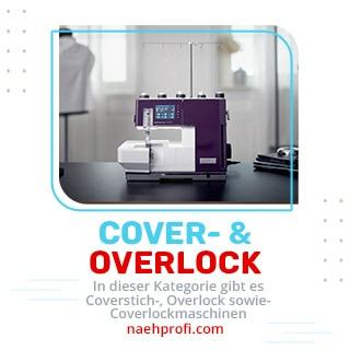 Coverstich, Overlock und Coverlock