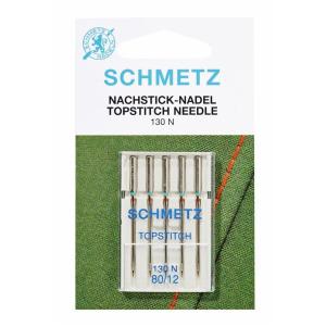 Schmetz Topstitch Nachsticknadel 130 N St.90 5er