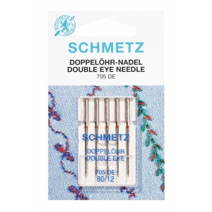 Nadel 705 DE Doppelöhr St.80 5er Schmetz