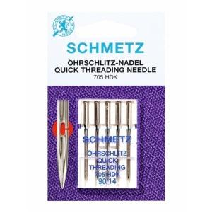 Nadel 705 HDK Öhrschlitz St.80 5er Schmetz