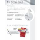 Singer ELx 705 Ultralock-Nadeln 14SH 2022 NM 80/11 5er