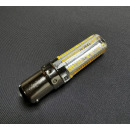 LED Lampe B15D 5 Watt Warmweiß Steck-/Bajonettfassung