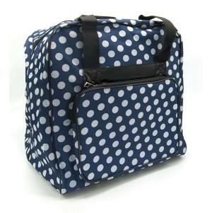 BabySnap Overlocktasche, dotty blau, 39x36x32 cm
