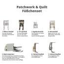 Füßchenset 7-teilig Patch/Quilt/Creative mit...