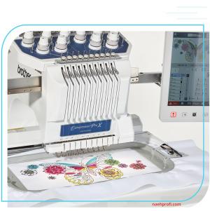 BROTHER PR1055X Stickmaschine inklusive Scan-Rahmen-Set