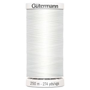 Gütermann Nähgarn Allesnäher 250 m weiß
