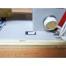 Veritas Spezial Nutznaht Automatic 8014/40 rot Koffer-Nähmaschine - GEBRAUCHT