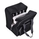 Overlocktasche schwarz, 36x39x32 cm