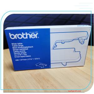 Brother Anschiebetisch WT8 Karton mit Gebrauchspuren
