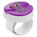 BabySnap Magnetnadelkissen Armband lila