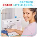 Brother KD40S Little Angel Computer-Nähmaschine