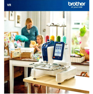 BROTHER VR Stickmaschine Quiltmaschine