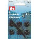 Prym Annäh-Druckknöpfe MS 13 mm schwarz 6...