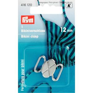Prym Bikini- und Gürtelverschluss MET 12 mm silberfarbig matt