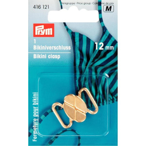 Prym Bikini- und Gürtelverschluss MET 12 mm goldfarbig