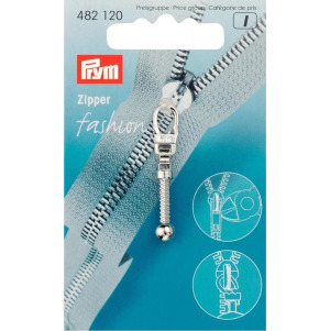 Prym Fashion-Zipper Keule silberfarbig