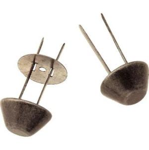 Prym Bodennägel für Taschen 15 mm Altsilberfarbig, 4er Pack