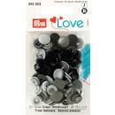 Prym Love Druckknopf Color KST grau 12,4mm
