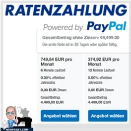 RatenzahlungPoweredbyPayPal